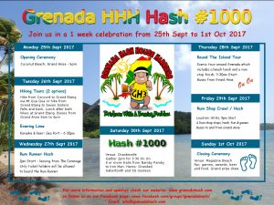 Hash #1000 Events Poster