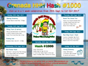 Hash #1000 Event Poster