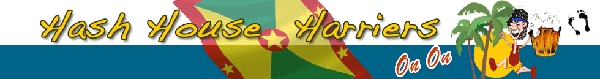 Grenada Hash House Harriers Banner